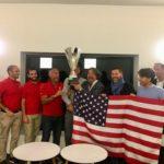 Premiazione team Usa